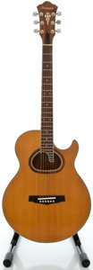 Musical Instruments:Acoustic Guitars, Circa late 1970's Ibanez R-400 Natural Acoustic Guitar, Serial #814163....