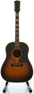 Musical Instruments:Acoustic Guitars, Circa 1948 Gibson SJ Sunburst Acoustic Guitar, Serial #2985 1....