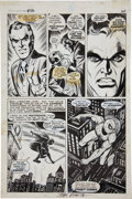 Original Comic Art:Panel Pages, John Romita, Sr. and Jim Mooney Spectacular Spider-Man#1/AmazingSpider-Man #116 Page Original Art (Marvel, 1968-7...
