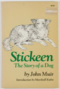 Books:Americana & American History, John Muir. Stickeen: The Story of a Dog. Garden City:Doubleday, 1974. Later edition. Octavo. 78 pages. Publishe...