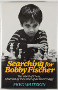Books:Biography & Memoir, Fred Waitzkin. SIGNED. Searching for Bobby Fischer. New York: Random House, [1988]. First edition, first printing. ...
