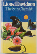 Books:Mystery & Detective Fiction, Lionel Davidson. The Sun Chemist. London: Jonathan Cape, [1976]. First edition. Octavo. 273 pages. Publisher's b...