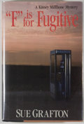 "Books:Mystery & Detective Fiction, Sue Grafton. ""F"" is for Fugitive. New York: Henry Holt,[1989]. First edition. Octavo. 261 pages. Publisher's bindin..."