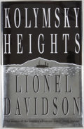 Books:Mystery & Detective Fiction, Lionel Davidson. SIGNED. Kolmsky Heights. London: Heinemann, [1994]. First edition. Signed and dated by the author...