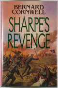 Books:Fiction, Bernard Cornwell. SIGNED. Sharpe's Revenge. RichardSharpe and the Peace of 1814. London: Collins, 1989. Signe...
