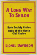 Books:Mystery & Detective Fiction, Lionel Davidson. A Long Way to Shiloh. London: Victor Gollancz, 1966. First edition. Octavo. 238 pages. Publisher's ...