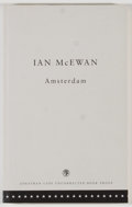 Books:Literature 1900-up, Ian McEwan. SIGNED. Amsterdam or The Spoiler: AComi-Tragedy. London: Jonathan Cape, [1998]. Uncorrected bookproof...