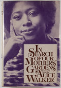 Books:Literature 1900-up, Alice Walker. SIGNED. In Search of our Mothers' Gardens. NewYork: Harcourt Brace Jovanovich, [1983]. First edition....