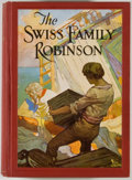Books:Color-Plate Books, Frank Godwin [illustrator]. David Wyss. The Swiss Family Robinson. Philadelphia: Winston, [1929]. Octavo. 340 pages....