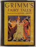 Books:Color-Plate Books, Elenore Abbott [illustrator and editor]. Grimm's Fairy Tales. New York: Scribners, 1935. Octavo. 308 pages. Publishe...