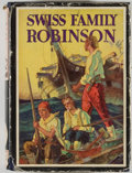 Books:Color-Plate Books, T. H. Robinson [illustrator]. The Swiss Family Robinson. Garden City: Garden City Publishing, [ca. 1935]. Octavo. 43...