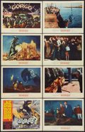 """Movie Posters:Science Fiction, Gorgo (MGM, 1961). Lobby Card Set of 8 (11"""" X 14""""). ScienceFiction.. ... (Total: 8 Items)"""