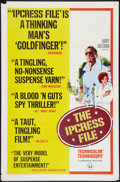 """Movie Posters:Thriller, The Ipcress File (Universal, 1965). One Sheet (27"""" X 41"""") Style B. Thriller.. ..."""