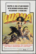 "Movie Posters:Adventure, Luana (Capital Productions, 1973). One Sheet (27"" X 41"") Style A.Adventure.. ..."