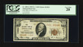 National Bank Notes:Colorado, Loveland, CO - $10 1929 Ty. 2 First NB Ch. # 13624. ...