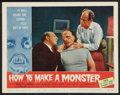 """Movie Posters:Horror, How to Make a Monster (American International, 1958). Lobby Card (11"""" X 14""""). Horror.. ..."""