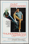 "Movie Posters:Crime, Thunderbolt and Lightfoot (United Artists, 1974). One Sheet (27"" X41"") Style C. Crime.. ..."