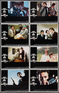 """The Enforcer (Warner Brothers, 1977). Lobby Card Set of 8 (11"""" X 14""""). Crime. ... (Total: 8 Items)"""