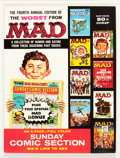 Magazines:Mad, Worst From Mad #4 (EC, 1961) Condition: VF....