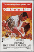 "Movie Posters:Academy Award Winners, Gone with the Wind (MGM/UA, R-1980). One Sheet (27"" X 41""). Academy Award Winners.. ..."