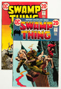 Bronze Age (1970-1979):Horror, Swamp Thing #2 and 5 Group (DC, 1973) Condition: Average VF+....(Total: 2 Comic Books)