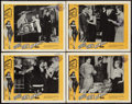 "Movie Posters:Bad Girl, Good Girls Beware (Fanfare, 1960). Lobby Card Set of 4 (11"" X 14"").Bad Girl.. ... (Total: 4 Items)"
