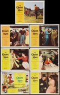 """Movie Posters:Drama, The Quiet Man (Republic, 1952, R-1956 & R-1957). Title Lobby Card & Lobby Cards (6) (11"""" X 14""""). Drama.. ... (Total: 7 Items)"""
