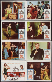 """Fast and Sexy (Columbia, 1960). Lobby Card Set of 8 (11"""" X 14""""). Comedy. ... (Total: 8 Items)"""