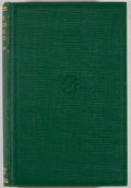 Books:Natural History Books & Prints, Arthur W. Sampson. Native American Forage Plants. New York: Wiley & Sons, 1924. First edition. Octavo. 435 pages...