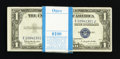 Small Size:Silver Certificates, Fr. 1618 $1 1935H Silver Certificates. Original Pack of 100. Uncirculated or Better.. ... (Total: 100 notes)