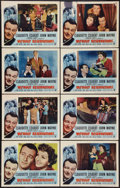 """Movie Posters:Comedy, Without Reservations (RKO, R-1953). Lobby Card Set of 8 (11"""" X 14""""). Comedy.. ... (Total: 8 Items)"""