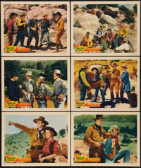 """Frontier Scout (Grand National, 1938). Lobby Cards (6) (11"""" X 14""""). Western. ... (Total: 6 Items)"""