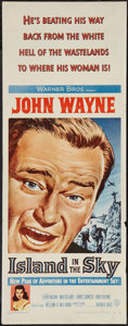 "Movie Posters:Adventure, Island in the Sky (Warner Brothers, 1953). Insert (14"" X 36"").Adventure.. ..."