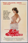 """Movie Posters:Adult, Never Sleep Alone & Other Lot (Kemal Enterprises, 1983). One Sheets (2) (27"""" X 41""""). Adult.. ... (Total: 2 Items)"""