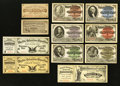 Miscellaneous:Other, World's Columbian Exposition 1893 Admittance Tickets.. ... (Total:11 items)
