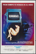 """Movie Posters:Science Fiction, Embryo (Cine Artists Pictures, 1976). One Sheet (27"""" X 41""""). Science Fiction.. ..."""