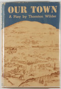 Books:Literature 1900-up, Thornton Wilder. Our Town. New York: Coward McCann, [1938].First edition. Octavo. 128 pages. Publisher's binding an...