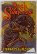 Books:Science Fiction & Fantasy, Edgar Rice Burroughs. Back to the Stone Age. Tarzana: Edgar Rice Burroughs, [1937]. First edition. Octavo. 318 pages...
