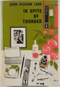 Books:Mystery & Detective Fiction, John Dickson Carr. In Spite of Thunder. London: HamishHamilton, [1960]. First British edition. Octavo. 224 pages. P...