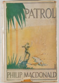 Books:Fiction, Philip MacDonald. Patrol. New York: Harper & Brothers,1928. First American edition. Octavo. 234 pages. Cloth lightl...
