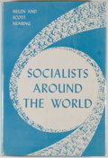 Books:Americana & American History, Helen and Scott Nearing. Socialists Around the World. NewYork: Monthly Review Press, 1958. First edition. Octav...