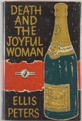 Books:Mystery & Detective Fiction, Ellis Peters. Death and the Joyful Woman. London: The CrimeClub, 1961. First British edition. Octavo. 256 pages. Pu...