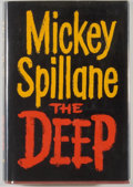 Books:Mystery & Detective Fiction, Mickey Spillane. The Deep. New York: E. P. Dutton &Company, Inc. Publishers, [1961]. First edition. Octavo. 218...
