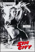"Movie Posters:Crime, Sin City (Dimension, 2005). One Sheet (27"" X 40"") DS Jessica AlbaStyle. Crime.. ..."