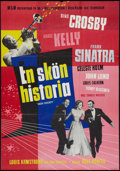 "Movie Posters:Musical, High Society (MGM, 1957). Swedish One Sheet (27.5"" X 39.5""). Musical.. ..."