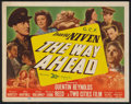 "Movie Posters:War, The Way Ahead (20th Century Fox, 1945). Title Lobby Card (11"" X14""). War.. ..."