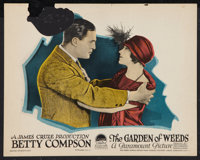 "The Garden of Weeds (Paramount, 1924). Lobby Card (11"" X 14""). Romance"