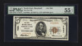 National Bank Notes:Maryland, North East, MD - $5 1929 Ty. 1 The First NB Ch. # 7064. ...