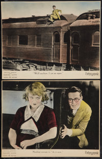 """Now or Never (Pathé, 1921). Lobby Cards (2) (10.25"""" X 13.25""""). Comedy. ... (Total: 2 Items)"""