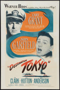 "Movie Posters:War, Destination Tokyo (Warner Brothers, 1943). One Sheet (27"" X 41"").War.. ..."